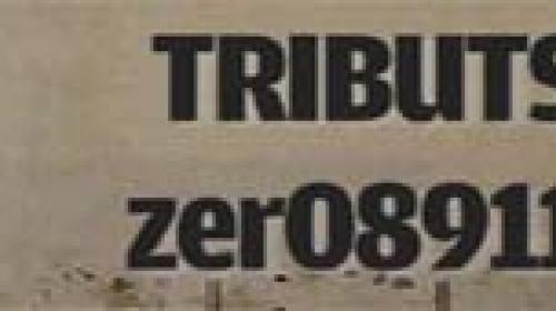 TRIBUTS zer08911