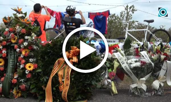 El club ciclista selvatà se suma a la concentració en record als dos companys del col·lectiu atropellats a Riudoms