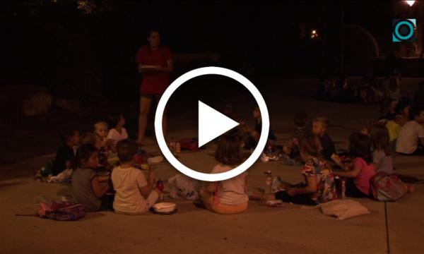 Més d'un centenar d'infants passen una vetllada de campament amb la Nit del Selvastiu