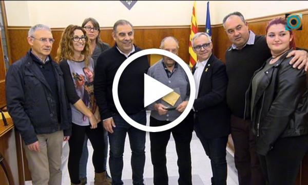 Paco Gasull rep un homenatge pels seus 100 anys de vida