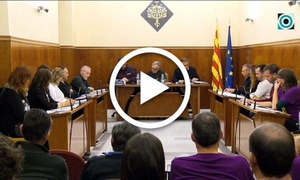 El ple de l'Ajuntament de la Selva aprova un pressupost de 8'5 milions d'euros per 2019