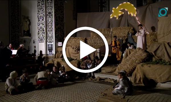 El clàssic pessebre vivent de Sant Rafael celebra el Nadal en la seva 23a edició