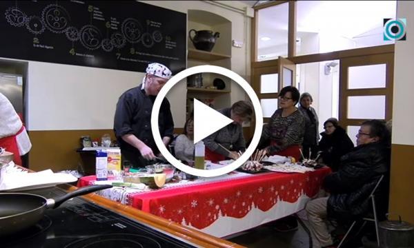 El Grup de Dones aprèn noves i creatives receptes nadalenques de la mà del cuiner selvatà Josep Batiste