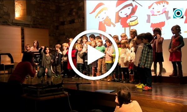 L'Escola de Música interpreta un any més el seu repertori nadalenc