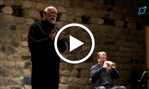 Josep Maria Puig i Baiget reviu de nou l'emoció del Poema de Nadal de Sarraga