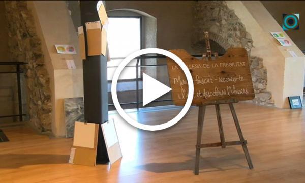 Les pors, plasmades a través de diferents disciplines artístiques de la mà de joves artistes al Castell