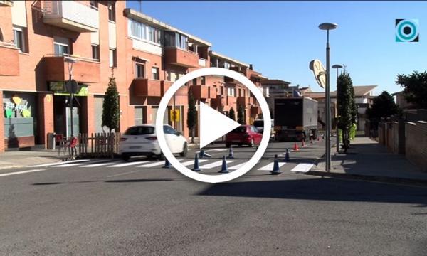 L'Àrea de Mobilitat i Seguretat encara la recta final del repintat de les marques viàries del municipi