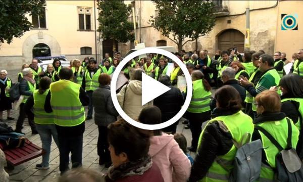 Els treballadors d'Aprodisca surten al carrer per reclamar la visibilitat del seu sector
