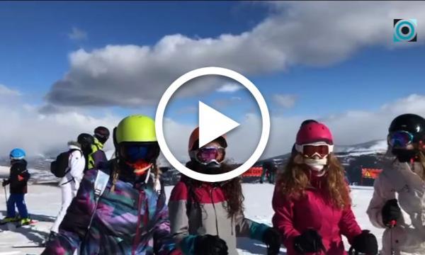 Una trentena de selvatans participen en la 3a Esquiada Jove a La Molina