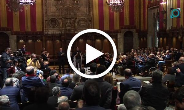 La Selva se suma a la petició d'un judici just i imparcial per als líders independentistes