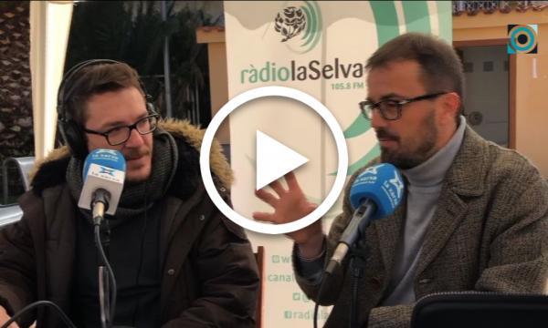 Ràdio La Selva celebra el Dia Mundial de la Ràdio amb un directe especial des de la plaça d'Europa