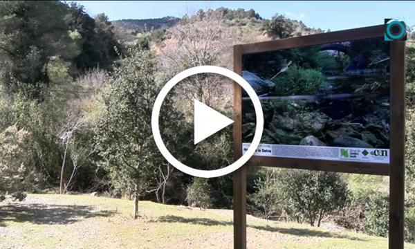 Finalitza la instal·lació dels plafons interpretatius de la flora i fauna del Camí del Rec