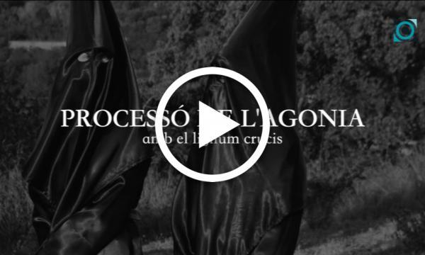 Processó de l'Agonia, amb el lignum crucis