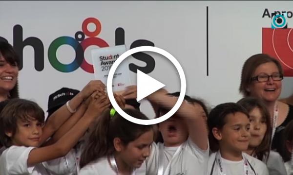 L'escola Abel Ferrater, premiada pel seu recorregut interactiu pel nucli antic als mSchools Student Awards