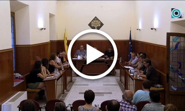 El primer ple del mandat aprova el cartipàs, les comissions i el funcionament bàsic municipal