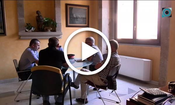 Representants comarcals dels Mossos i del consistori selvatà es reuneixen per valorar les incidències al municipi