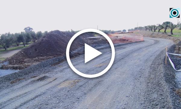 Les obres de la carretera entre la Selva i Almoster finalitzaran al juny
