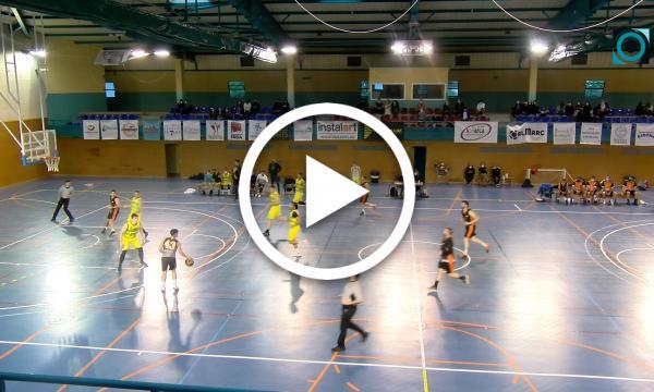 El Segona Catalana de bàsquet es desmarca a la recta final i venç al Manyanet Reus