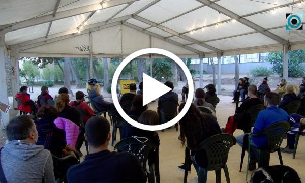 La prevenció d'incendis i gestió i manteniment dels boscos centra la xerrada de Marc Castellnou a l'envelat de l'Hort d'Iglésies
